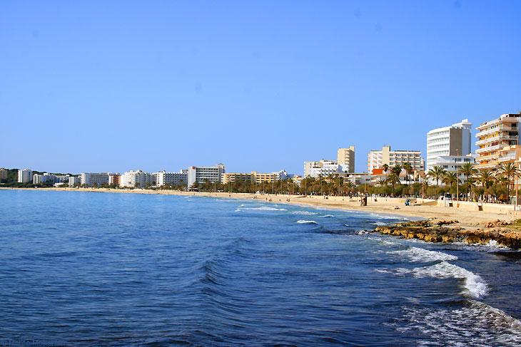 Strand, Bucht von Son Servera, Mallorca