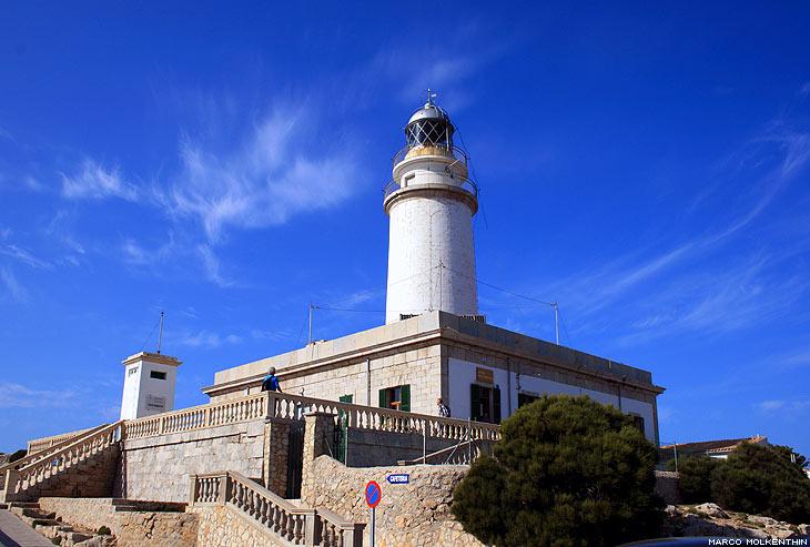 Leutturm am Cap de Formentor, Mallorca