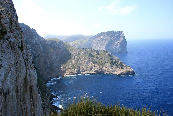 Steilküste am Cap de Formentor, Mallorca