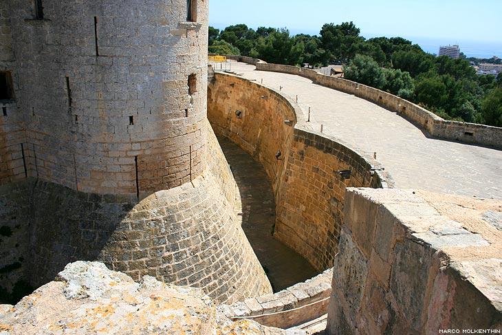 Burggraben, Castell de Bellver