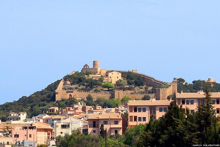 Castell de Capdepera an der Ostküste von Mallorca