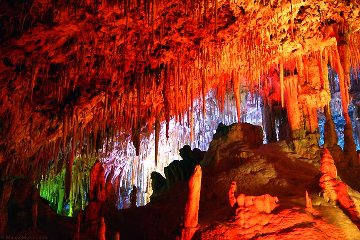 Tropfsteinhöhle - Coves dels Hams