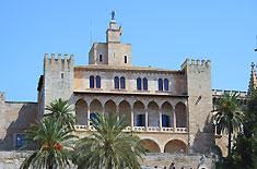 Königspalast in Palma (Palau de l'Almudaina)