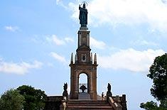 Christkönigmonument auf dem Puig de Sant Salvador