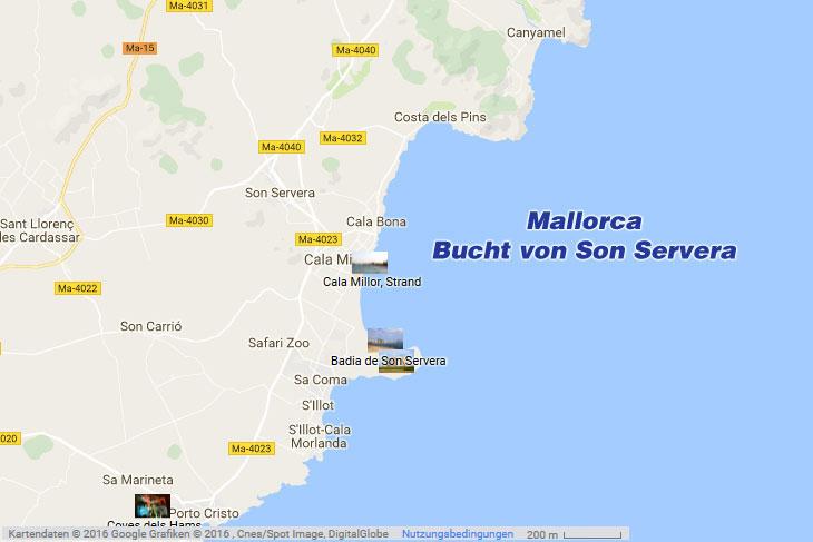 Badia De Son Servera Mallorca Ostkuste