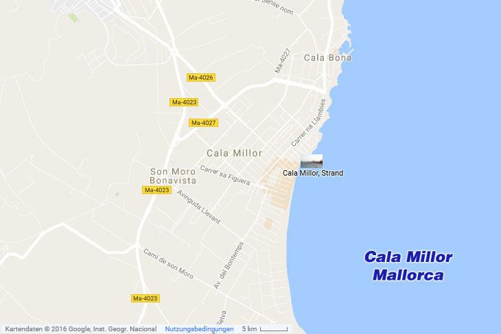 Cala Millor auf Mallorca (Ostküste)