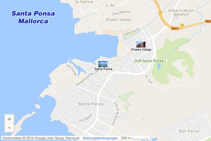 Santa Ponsa Im Sudwesten Von Mallorca