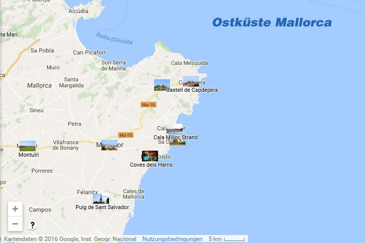 Ostkuste Von Mallorca Sehenswurdigkeiten Im Osten