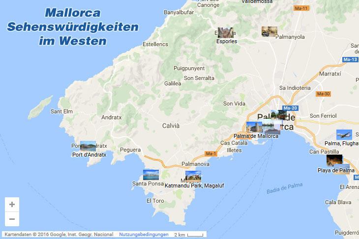 Mallorca Sehenswurdigkeiten Im Westen